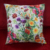 Full color printing indoor decoration sofa/chair backrest cushion cover replaceable and washable