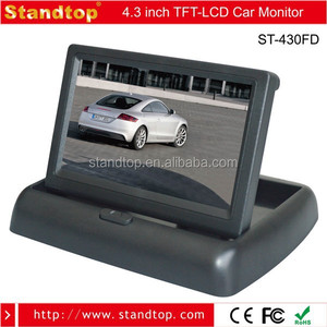 High Quality Display 4.3 Inch LCD TFT Car Foldable Rearview Monitor