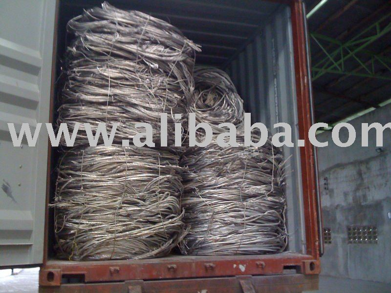 Aluminum wire, UBC, Birch/Cliff, Mill berry, Shining New Berry, Brass, Iron, steel, stainless, etc.