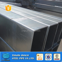 zinc coating square tubing/weld pre-galvanized steel pipe supplier