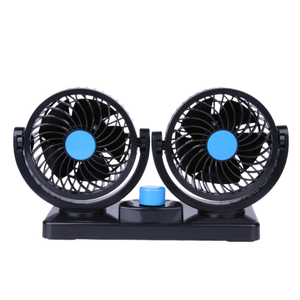 6 Inch Double Head 12v 24v Car Cooling Fan