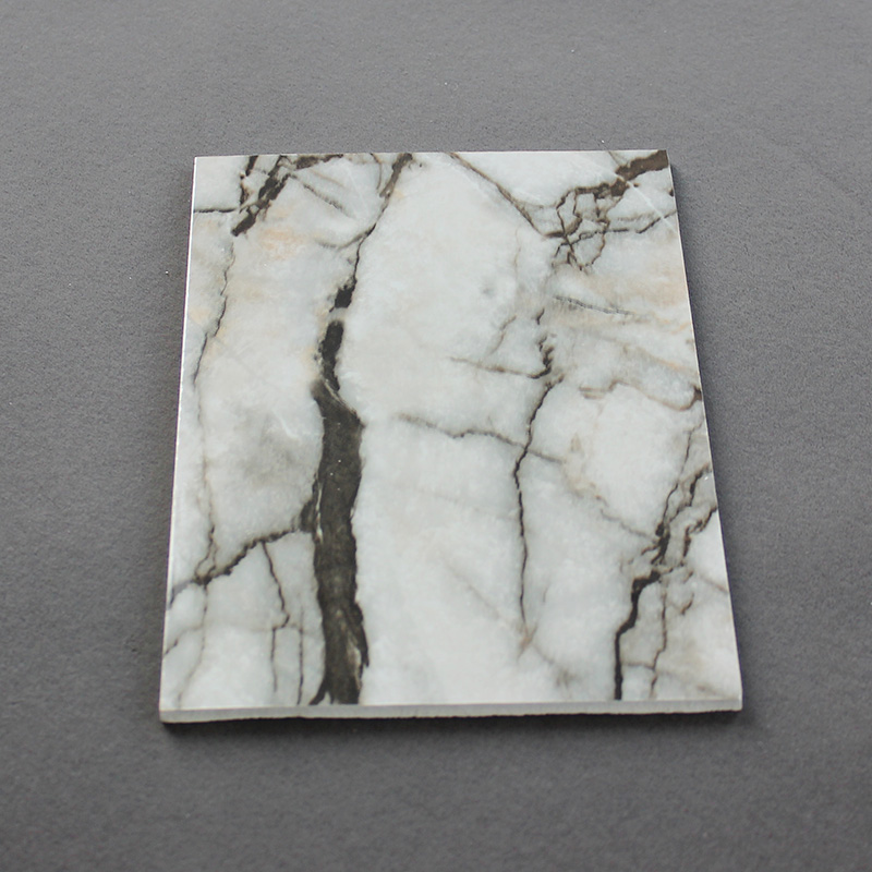 PVC Marble Sheet And Artificial Marble Board Waterproof For Bathroom Wall Panel