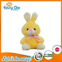 Different Colors Soft Bunny Plush Rabbit Toy For Sale
