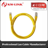Short cat5e patch cables from KW-LINK.fibre optic patch cable
