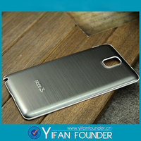 Hottest For Note 3 Metal Case,Luxury Brushed Aluminum Metal Back Phone Case for Samsung Galaxy Note 3 N9005 N9000