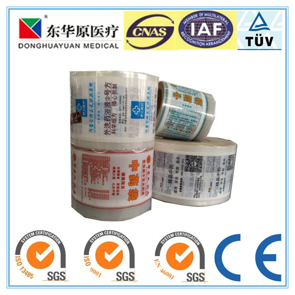 Liquid Herb Packing PE Film