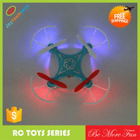 Mini Rc Quadcopter LED RC UFO Propeller Blades Protection