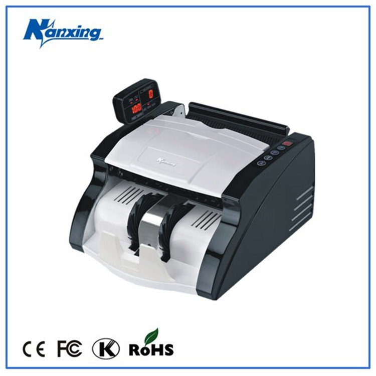 Automatic portable money counter,note counting machine with uv,mg,ir detection