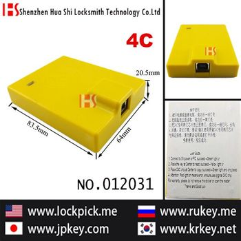 "Transponder chip key clone, ""Copy fast"" 4C chip quick copy instrument (send 50 chips)012031"