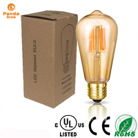 squirrel cage 60W St64 Carbon Filament Bulbcandle filament/vintage filament/metal halide lamps