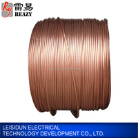 Wholesale copper clad steel CCS earth earthing strand wire for grounding project