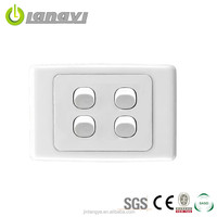 New Designed Eco-Friendly Save Power Australia Four Gang Two Way Switch