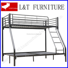 hot sale iron style triple bunk bed
