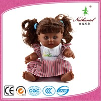 Christmas gift dismountable wholesale plastic fashion baby alive soft doll supplies factory