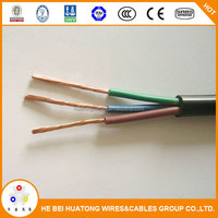 450/750V 3 core 1.5mm2 2.5mm2 PVC insulated flexible copper wire nyyhy cable