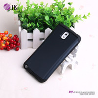 Wholesale cell phone pc+silicone case for samsung galaxy note 3