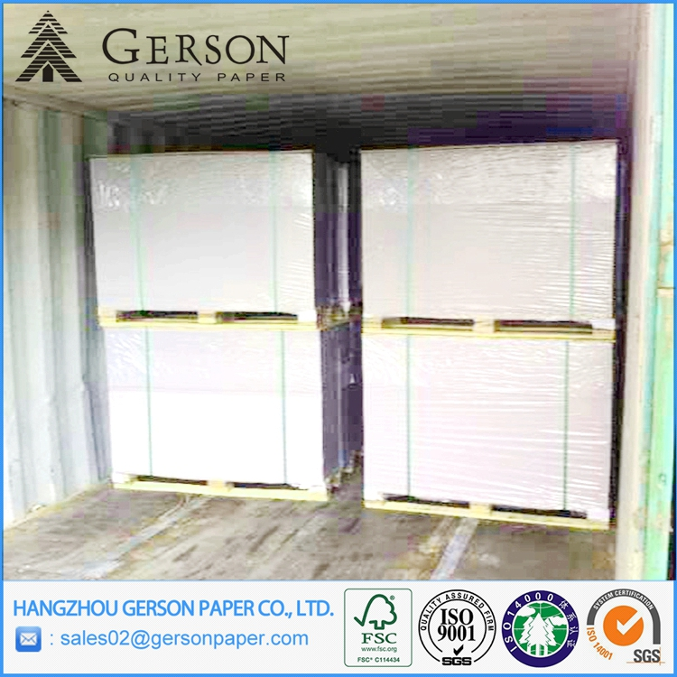 Sell to Indonesia For Offset Pringting Duplex Grey Board From Recycled Waste Paper Board