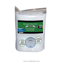 Polyfiber Filter Pad Premium Bonded Filter Pad White In Roll