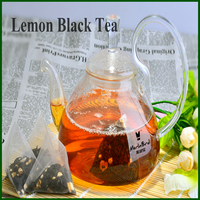 Dry Lemon Fruit Flavored Slimming Black Tea