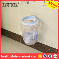 Wholesale reusable hanging plastic cute trash can