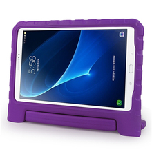 Wholesale price 360 degree full shockproof eva kids cover case for samsung tab a 10.1 inch tablet with handle stand