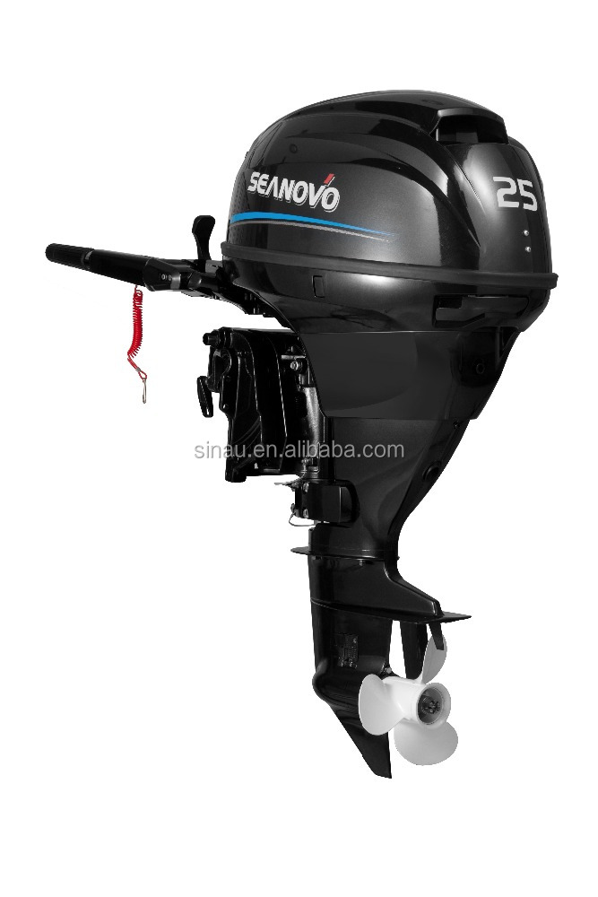seanovo 25 hp 4 stroke outboard motor on sale electric