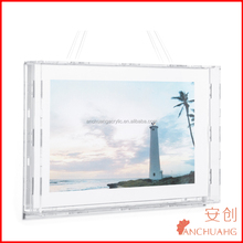 large wall invisible photo frames online /custom picture frames