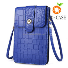 Wholesales Best Selling Women Leather Wallet Phone Case for Lady mini bag