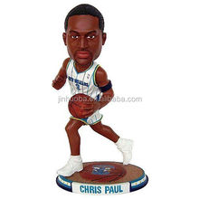 Resin customized NBA player bobble head, your own bobble head