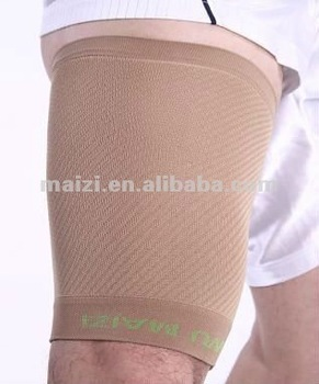 High elasticity spandex and nylon thigh support