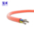 High Temperature 200C Silicone Rubber Insulated 2x0.5mm 20awgx2c Power Cable