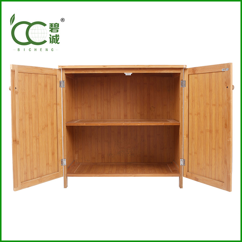 High Quality Alibaba Export OEM Kitchen/Office Furniture Bamboo Filing Cabinet Wholesale