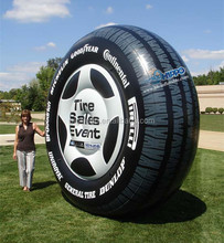 inflatable tire product model for event