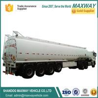 40000 liters oil petrol transport trailer fuel tanker for sale