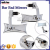 BJ-RM400-04 High Performance Kawasaki Z250 Z300 Chrome Billet Aluminum Handle Bar End Mirror Motorcycle