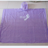 tengxing Hot selling Custom pe dispoable rain poncho, printed rain poncho wholesales in bulk