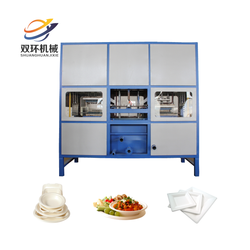 Machines for biodegradable plates / take away food container making machine / take away food box making machine