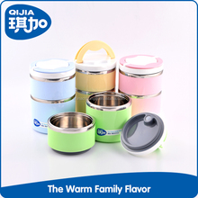 Promotion round shape keep food warm insulated food container