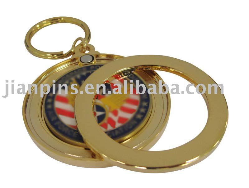 Customized Metal Coin Key Chain
