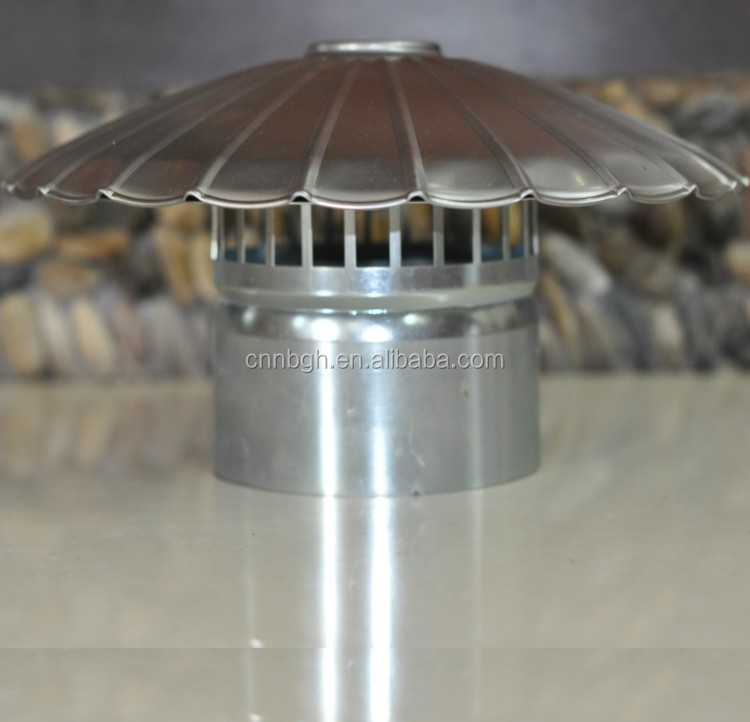 stainless steel chimney cowl vents rain cap for firepalce , wood heater