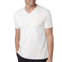 2016 hot sale summer breathable dry fit man's v neck t shirt