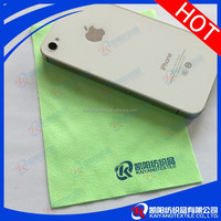 Microfiber jewelry cleaning cloth degital transfer colorful logo printing