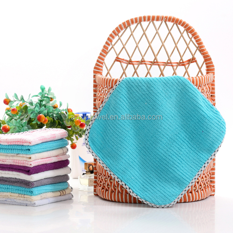 Ultra fine factory price and low MOQ super absorbent lint free terry microfiber cleaning cloths