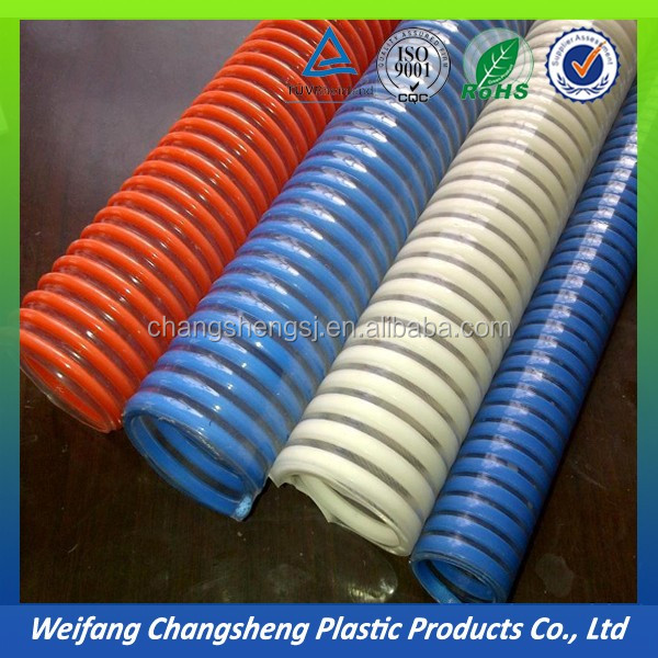 3 inch Flexible PVC Spiral Water Pump Suction Hose