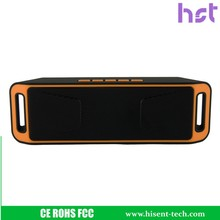 Portable AUX/FM Stereo Music Sound Box, Rechargeable Surround room Wireless BT 4.0 Subwoofer Speaker