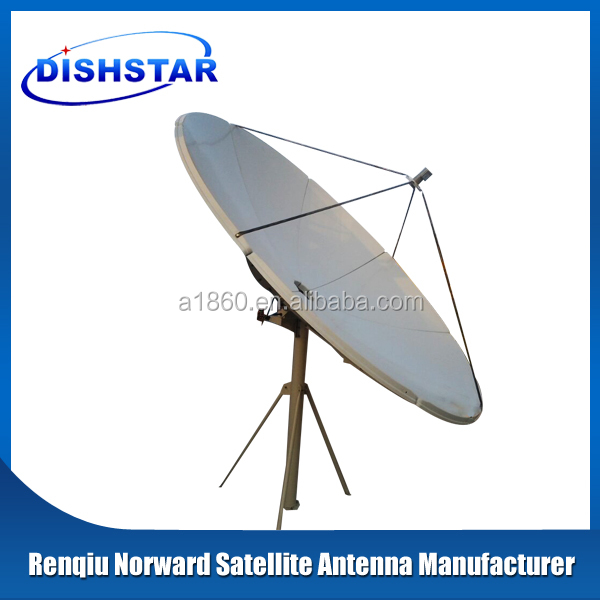 C band 3m satellite dish antenna