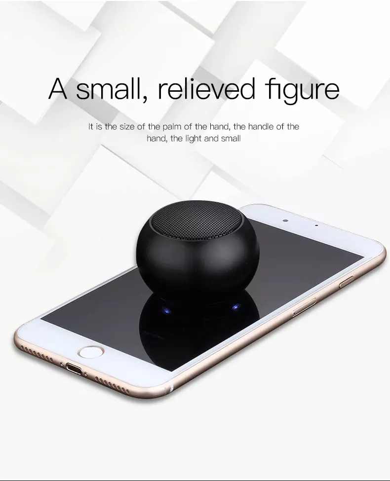 2019 New Promotional Rechargeable Bluetooth Speaker For Mobile Phone