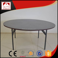 Round used banquet tables for sale.