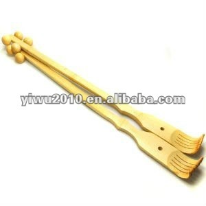 Bamboo Back Scratcher Deluxe Massager Therapeutic Body