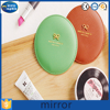 Top sale pu frame mini vanity pocket mirror for cosmetic
